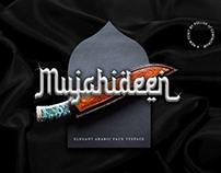 Mujahideen - Elegant Arabic Faux Typeface
