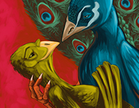 Romantic Peacock