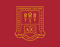 USC Admission Center Embroidery