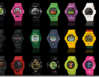 G-Shock Thailand Website
