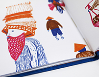 Hats For Sale - illustrated book