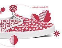 Sneakers design.