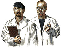 Mythbusters Portrait for Discovery Magazine