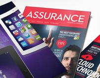 Assurance Magazine design