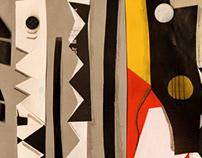 M u s i c  //  Collage  //  Recycling Art