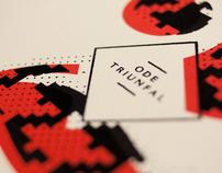 Screenprinted Postcards of Orpheu Magazine