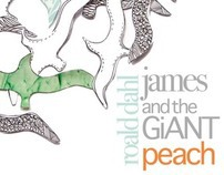 James and the Giant Peach - Book Cover
