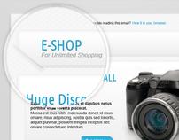 E-shop Newsletter Template