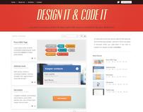 Design it & Code it