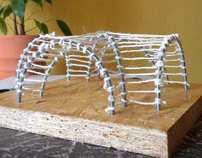 Cross vault model