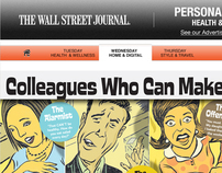 Wall Street Journal Microsite & Email