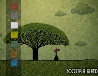 Flash Animation Website : Socotra Island