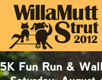 WillaMutt Strut 2012 Marketing Materials