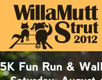 WillaMutt Strut 2012 Marketing Materials