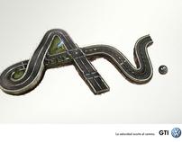 Volkswagen GTI ad prensa