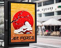 AIR FORCE 180 RED SUN