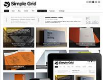 Simple Grid WordPress Theme Responsive