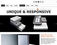 Unique WordPress Theme Responsive
