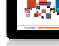 iPad presentation for Soul of Izzy+