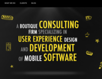Home page variation