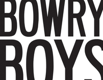 The Bowry Boys Logo