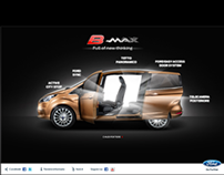 Ford B-MAX  - Launch mini-site
