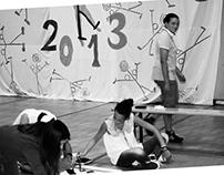 Pittura di gruppo con henri Olama