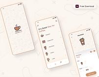 Coffee Shop App - Freebie