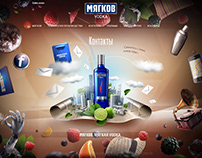 MYAGKOV VODKA / WEBSITE