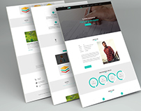 PROFILE One Page PSD Template