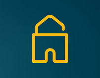 Mortgages Unlocked Logo Design