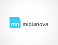 Logo - mídianova