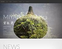 MIYANAGA Akira Website
