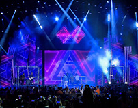 Kids' Choice Awards Colombia 2017 / Stage graphics