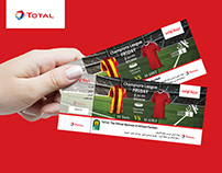 "Total Voucher for "" AHLY & ES Tunis"" Match"