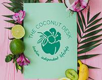 The Coconut Desk   Branding   Web Design