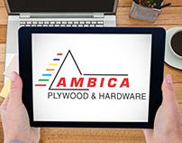 Ambica Plywood & Hardware Logo Design