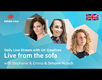 Adobe Live from the sofa UK with Simone Hutsch