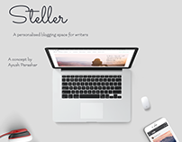 Steller - A personalised blogging web App