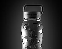 Sports glass bottles