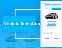 Vehicle buy app