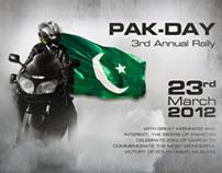 23rd March 2012 BikerBoyz Rally M2 Motorway Pakistan