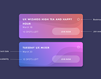 DailyUI Sign Up 001 Meetup Redesign, Meetspace Pixel 3