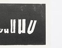 Typography & linoleum