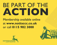 Nottinghamshire County Cricket Club Membership Campaign
