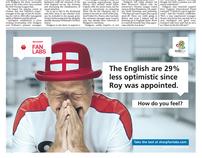 Sharp UEFA Euro 2012 - Daily Telegraph Ad Campaign