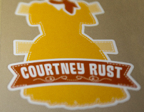 Courtney Rust Identity System & Business Card