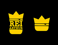 Rei Arthur Hamburgueria Gourmet - Redesign
