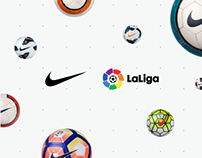 Nike - LaLiga Ball Hub - Website