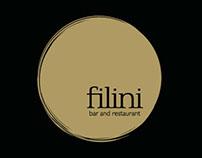 Filini bar and restaurant, Chicago website